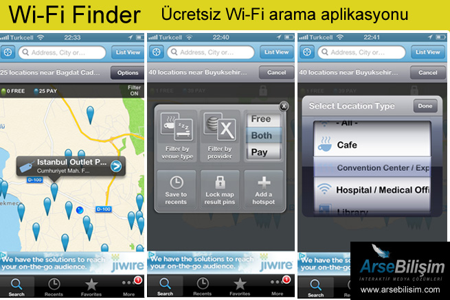 Wi-Fi Finder Apps